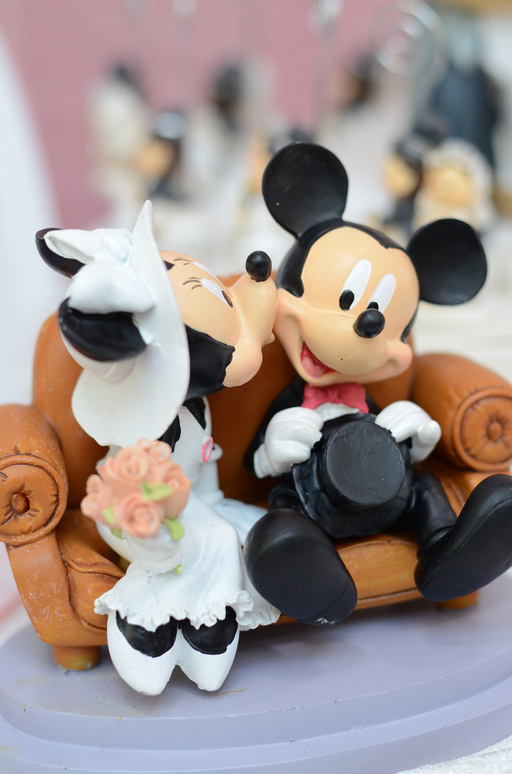 minnie e topolino sposi