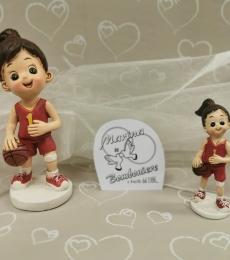 bomboniera bambina basket