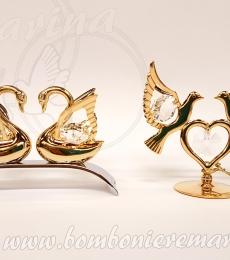 cigni e colombe nozze d'oro