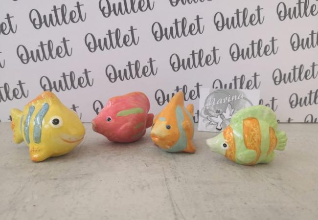 Pesciolini colorati bomboniere battesimo
