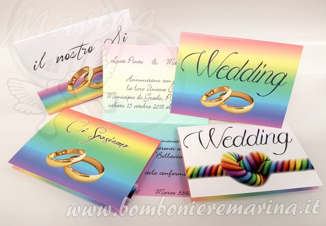 Unione civile - nozze arcobaleno